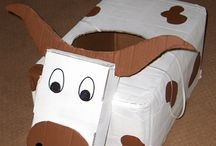 Cardboard Costume Party