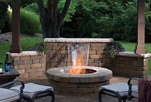 ...Back Yard Fire-Pits ! / by Tony Pellinghelli