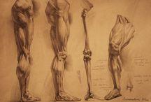 Tekeningen benen