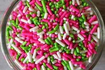 pink + green + ladybug = yay!