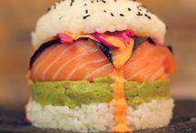 Sushi & fries