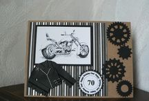 Motorcycle cards