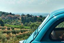 Toscana, Italia - de FIAT500