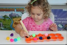 Homeschooling with a toddler