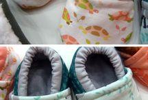 Sapatinhos moldes bebê