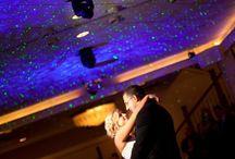 Spring/Summer Wedding Season / laser accent lighting, illumination, lighting alternatives