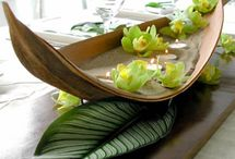 Tropical Flower Arrangements