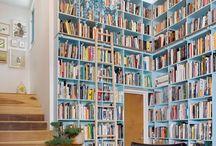 Beautiful Bookshelves / by Rosemina Nazarali