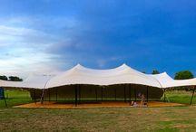 20m x 16m Stretch Tent