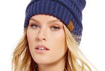Blue CC Beanie Hats