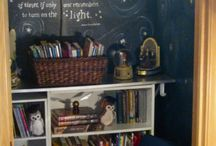 Harry Potter Bedroom ideas / by Chloe's BubblySoup