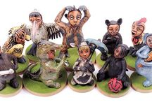 Elyte Blansjaar - Ceramics, Sculpture / sculpture