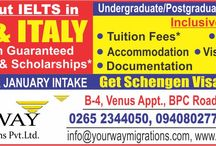 Study without IELTS in Spain & Italy