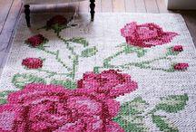 Рукодельные ковры и коврики