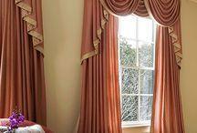 Závesy a záclony / Textilné dekorácie okien