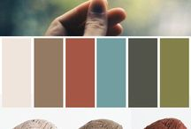 Color inspiration / Color palettes for future knitting projects / by VeryPink Knits