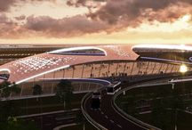 Houston Spaceport / Proposal by Trost&Associates for the new Houston Spaceport.
