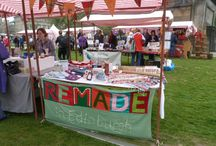 Events / Pictures of some of our staff and volunteers representing Remade in Edinburgh at public events.