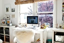 // OFFICE SPACE // / Ideas for style, storage and double-desking