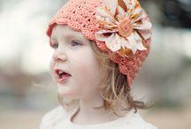 CROCHET HATS/SCARVES/MITTENS / Crochet