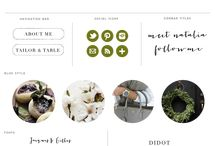 blog header inspiration
