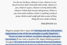Christian Life • Bible Quotes