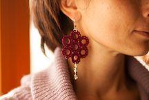 Cotton earring!