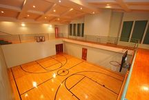 Basketball courts / To practicing for basketball