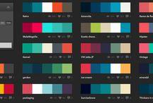 Paletas de colores / Elegí los colores que creas que van con el estilo de tu marca.