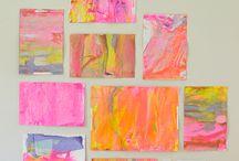 Kid Art/Craft Projects / Art Camp 2015