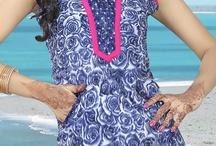 Latest Tunics / Latest Designer Tunics & Kurtis for Ladies adorned with various colours.