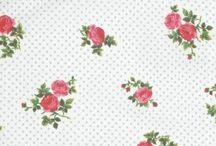 Coton imprimé fleuri