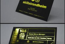 Visittkort / business cards