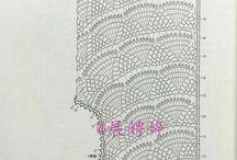Связанные крючком топы