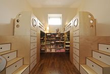 Stair Designs / A look at stair solutions we've built for kids' rooms throughout the years.