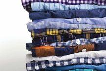 Washed shirts