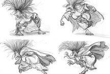 ChD - Magical - Character Design / Witches and wizards, mages, scorcerers and fortune tellers