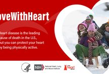 #MoveWithHeart / The theme for American Heart Month 2018 is: #MoveWithHeart. Even though heart disease is largely preventable, it is responsible for 1 in every 4 deaths in the United States. We're encouraging everyone to add more physical activity into their day. Join us and find out how you can get active and get involved: www.nhlbi.nih.gov/heartmonth