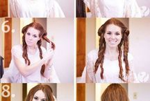 Hairstyle and make up