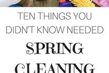 Home Cleaning and Organization