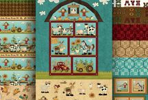 McAnderson's Farm- Fabric Collection / Delivered in October 2016!