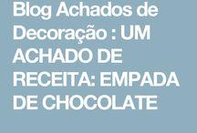 Empada de Chocolate