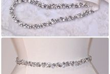Bridesmaids Belt Ideas / Add some sparkle to your bridal party
