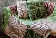 crochet blankets and pillows / by Deborah Cahill