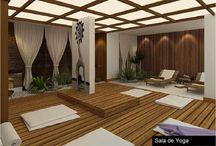 Dibujos sala yoga