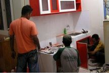 kitchen set cinere