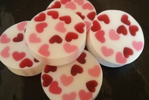 Valentine's day soap
