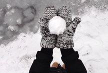 winter / Slipe down if you love winter like me❄☂