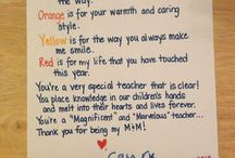 Teacher gifts / by Amanda Rutledge