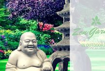 Garden Statuary for your Zen Oasis at The Crabby Nook / Statues for your Garden Decor  / by The Crabby Nook